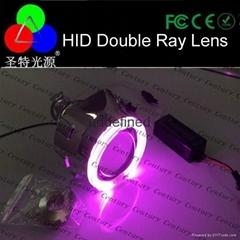 厂家供应 3.0寸 2.5寸伟世通鱼眼透镜 双光天使眼