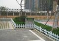 草坪護欄,塑鋼草坪護欄,pvc草坪護欄廠家直供 5