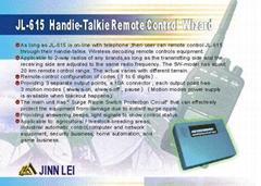 JL-615 Handie-Talkie Remote Control Wizard