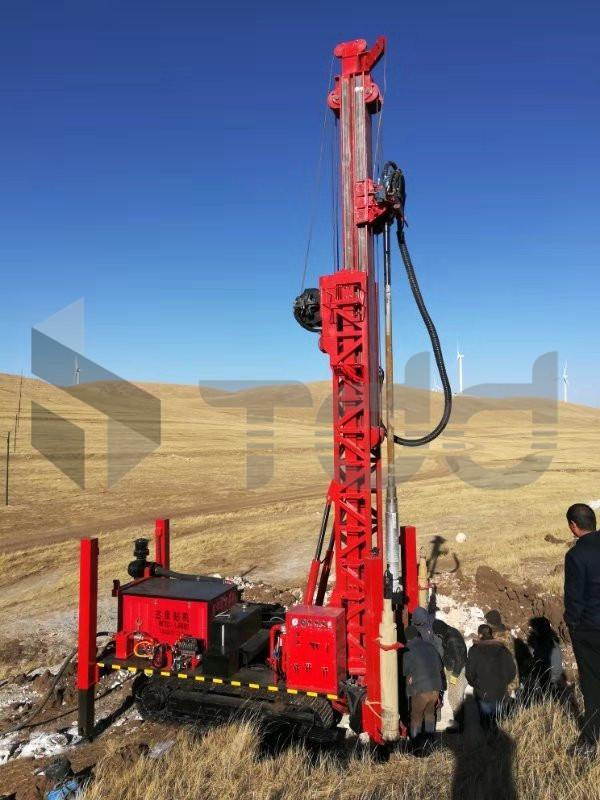 水井鑽機 TDD-800S 1