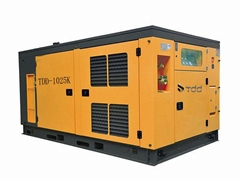 Two-Stage Compression Diesel Fixed Screw Air Compressor