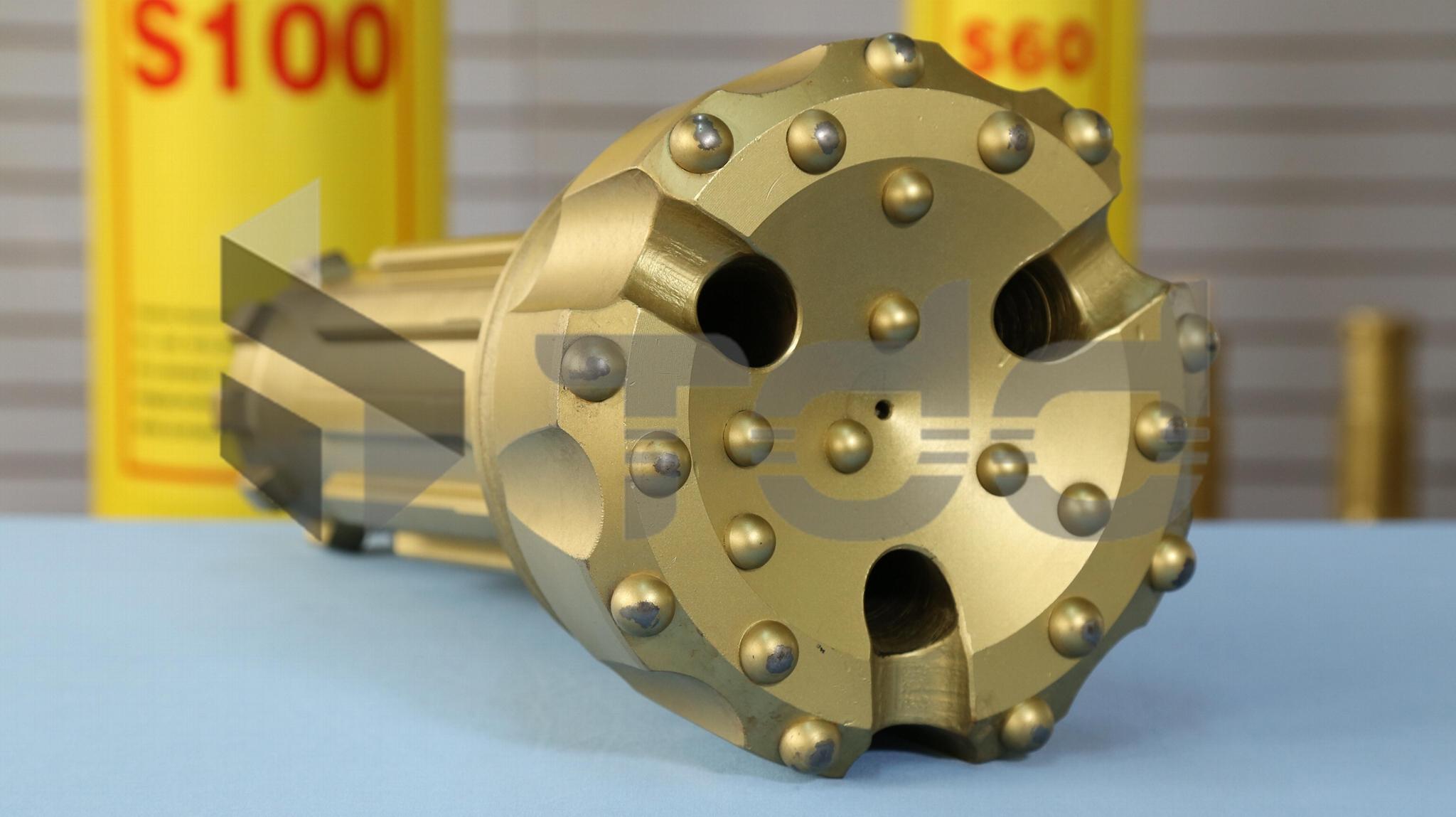 甦普曼節能高效高氣壓潛孔鑽頭 1