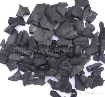 椰殼淨水活性炭 2
