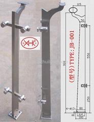 不锈钢栏杆柱