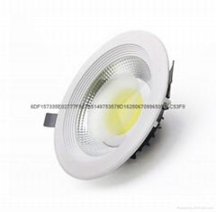 4寸10W大功率LED筒灯