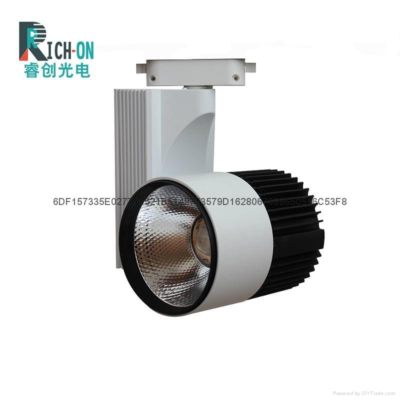 睿创30W黑白大气款LED轨道灯 2