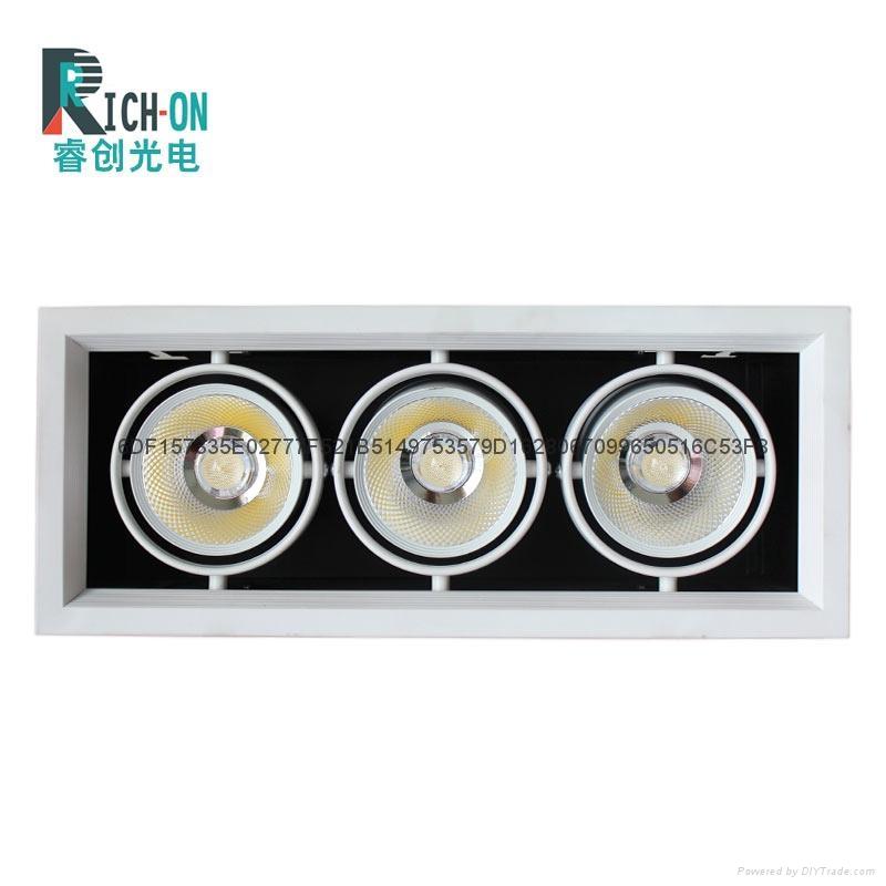 睿创AR70系列三头LED豆胆射灯 4