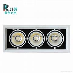 睿创AR70系列三头LED豆胆射灯