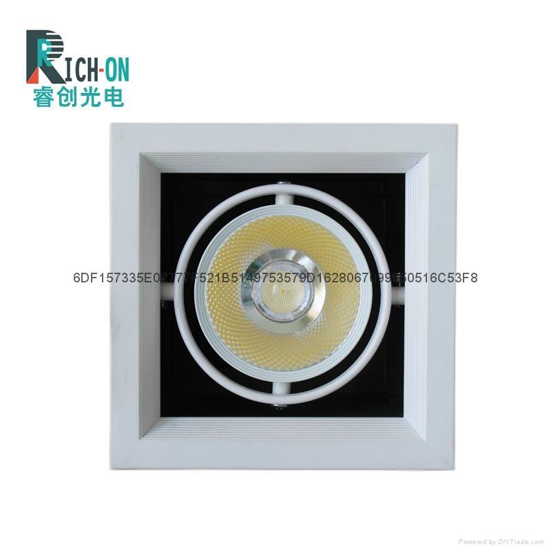 睿创AR70系列三头LED豆胆射灯 3