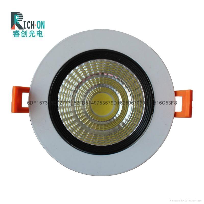 睿創經典冷鍛黑白款LED天花燈 3