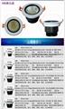睿創經典冷鍛黑白款LED天花燈 4