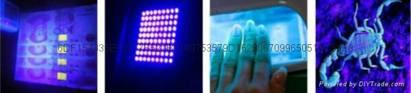 365nm紫光LED燈泡 4