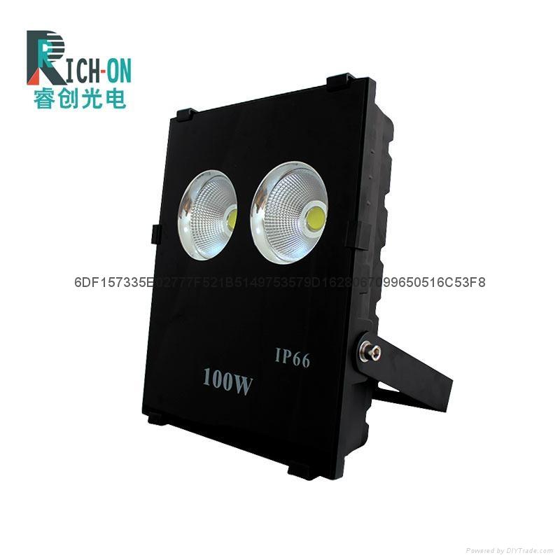 睿創60度角100W高亮LED投光燈 1