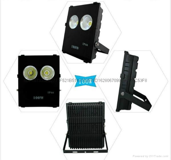 睿創60度角100W高亮LED投光燈 2