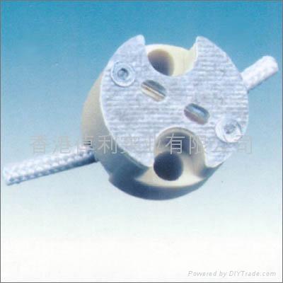 G4.0-G5.3-G6.35 Ceramic lamp holder(base) with VDE certificate 1