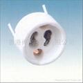 GU10 ceramic lamp holder with VDE