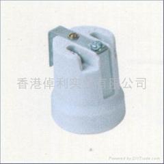 E27Porcelain lamp holder in CE certificate
