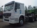6X4 tractor truck