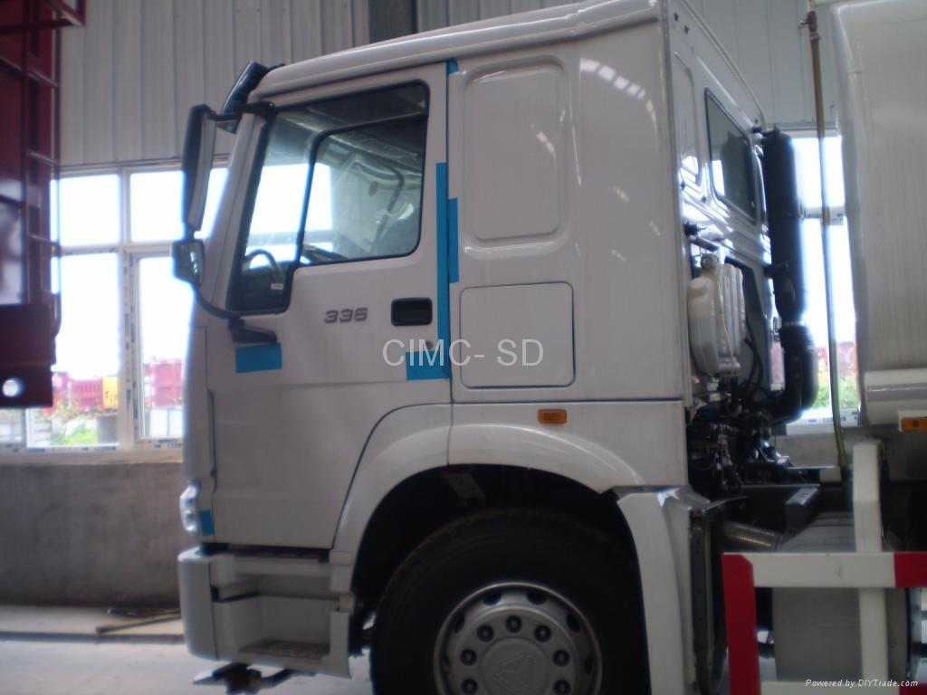 20m3  HOWO watert tank Truck 5