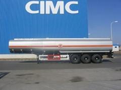 tank semi trailer, carton, steelless,