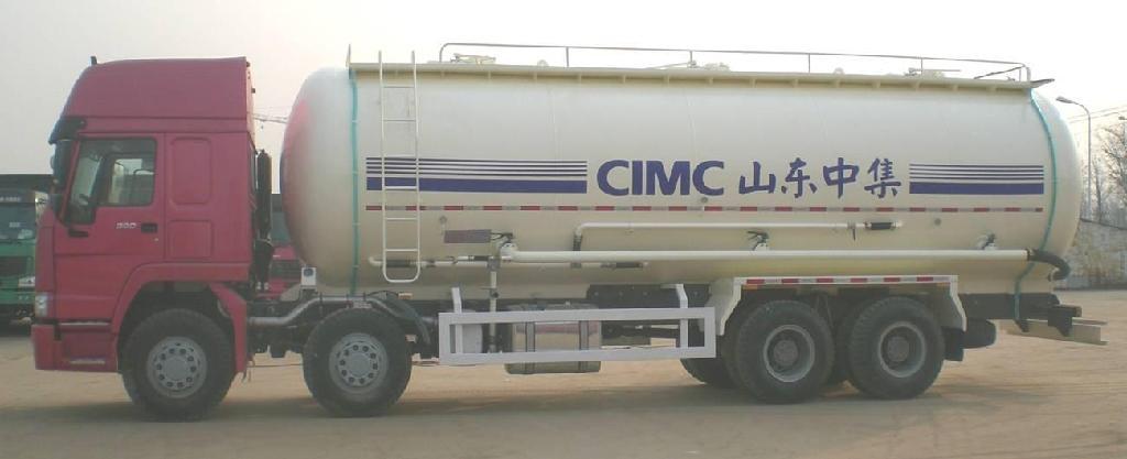 Bulk Cement Tank Truck 1