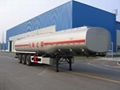 tank semi trailer, carton, steelless, aluminum alloy