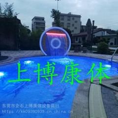 私家泳池工程 私家别墅泳池设备工程