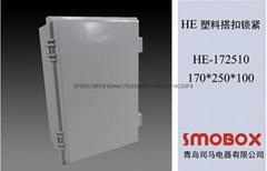 170*250*100塑料搭扣式按钮盒防水配电箱