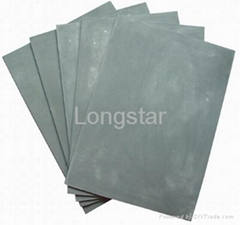 Laser rubber sheet