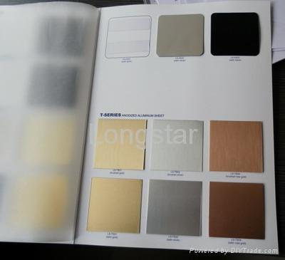 Anodized Aluminum Sheet Ls Tb01 Longstar China