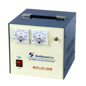 A.C VOLTAGE REGULATOR (SVC-2000 / 3000)