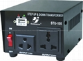 STU-100 STEP UP/ DOWN VOLTAGE TRANSFORMER WITH USB