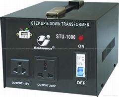STU-1000 交流昇降變壓器帶5V USB