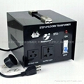 STU-1000 STEP UP/ DOWN VOLTAGE TRANSFORMER WITH 5V USB 2