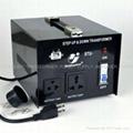 STU-1000 STEP UP/ DOWN VOLTAGE TRANSFORMER WITH 5V USB