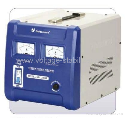 SVC-2000F A.C VOLTAGE REGULATOR