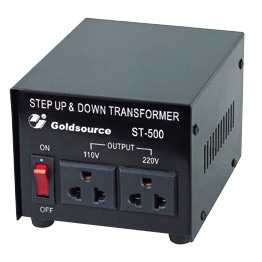 A.C STEP-UP & DOWN TRANSFORMER ( ST-300 /500/750)