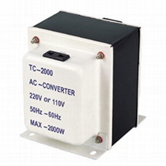A.C STEP UP/STEP DOWN TRANSFORMER (TC-1000/-/3000)