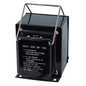A.C STEP UP/DOWN TRANSFORMER (THG-2000/3000)