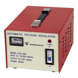 A.C VOLTAGE REGULATOR CVR-2000/ 3000 1