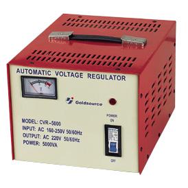A.C VOLTAGE REGULATOR CVR-4000 / 5000 1