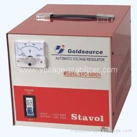 A.C VOLTAGE REGULATOR SVC-2000N/ 3000N/... 2