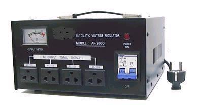 A.C VOLTAGE REGULATOR  AR-2000/3000 2