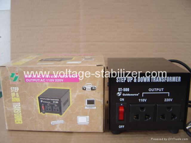 交流升降变压器 ST-500 4