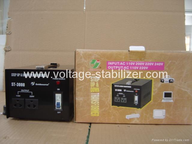 交流昇降變壓器 ST-3000 4