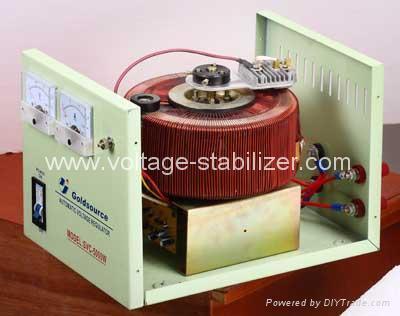 A.C VOLTAGE REGULATOR (SVC-4000 /5000) 4