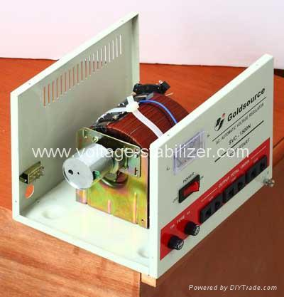 A.C VOLTAGE REGULATOR SVC-500N/ 1000N/1500N 4