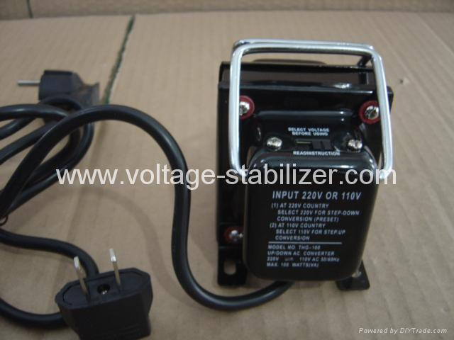A.C STEP UP/DOWN TRANSFORMER (THG-100/200...750) 2