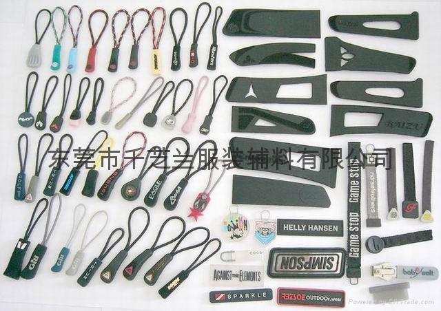 plastic zipper pullers 1