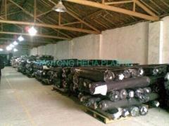 stock PVC leather